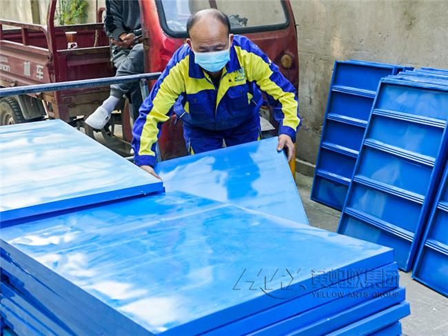 武汉黄蚂蚁搬家公司承接武汉市红与铂企业城搬迁项目